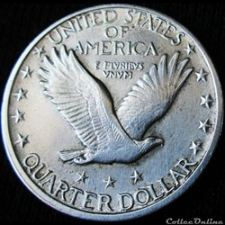 monnaie monde etat uni 1918 san francisco quarter dollar