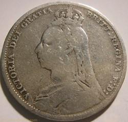 Victoria - 1 Shilling 1890 - Kingdom of ...