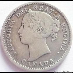 Victoria - 10 Cents 1896 - Canada