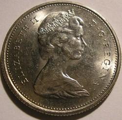 Elizabeth II - 25 Cents 1977