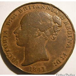 Victoria - 1/13 Shilling 1841 - Jersey (ex.2)