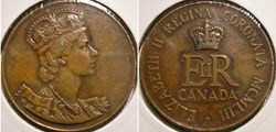 Elizabeth II UK - 1953 Coronation Medal ...