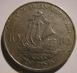 Elizabeth II - 10 Cents 2004 - Eastern C...