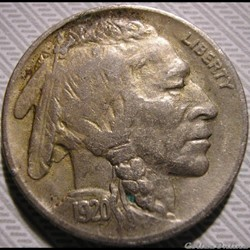 1920 5 Cents