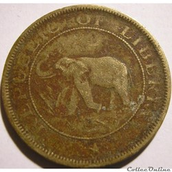 Liberia - Two Cents 1937 - Africa