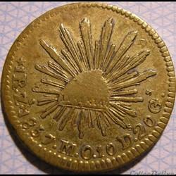 México - Real 1857 - 1st Republic