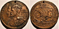 George V & Mary - 1911 Coronation Medal ...