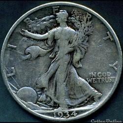 1934 Half Dollar