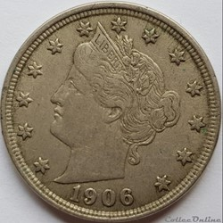 1906 5 Cents
