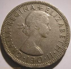 Elizabeth II - 1 Florin 1966 - UK