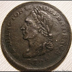 1783 Cent Washington - Post-1776 Coin