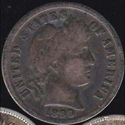 1899 Dime