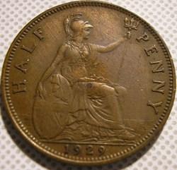 George V - Half Penny 1929 - Great Brita...