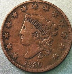 1830 One Cent