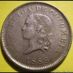 5 Centavos 1888