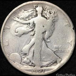 1921 Half Dollar