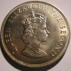 Elizabeth II - 5 Shillings 1066-1966 Nor...