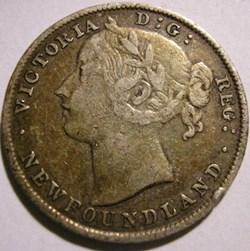 Victoria - 20 Cents 1896 Newfoundland