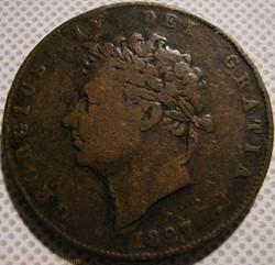 George IV - Half Penny 1827 Great Britai...