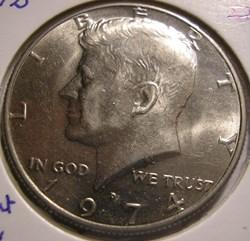 1974 Denver Half Dollar