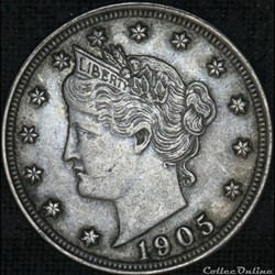 1905 5 Cents