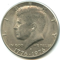 Kennedy - 1976 D. Bicentenial Independen...