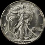 Half $ Walking Liberty (1916-1947) - 50 Cents USA