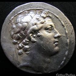 Antiochos IV Epiphanes  175-164 BC. - Tetradrachm