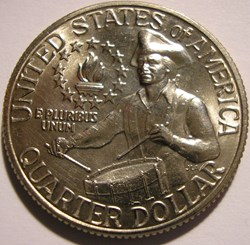 1976 P Quarter Dollar - Bicentennial