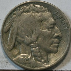 1929 San Francisco 5 Cents