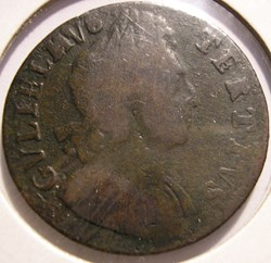 William III - HalfPenny 1700 Kingdom of ...