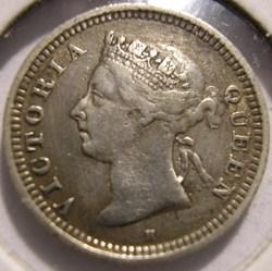 Victoria - 5 Cents 1897 H - Straits Sett...