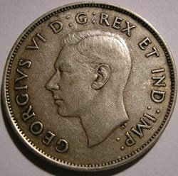 George VI - 50 Cents 1942