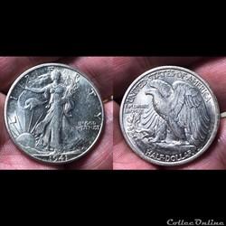 1941S Walking Liberty