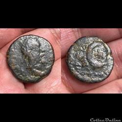 MESOPOTAMIA, Carrhae; Septimus Severus