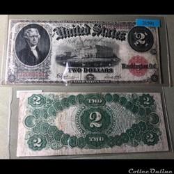 1917 US 2$ Legal Tender