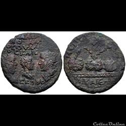 BITHYNIA, Nicaea. Valerian I, with Gallienus and Valerian II