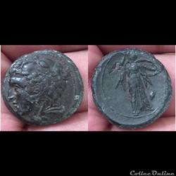 SICILY, Syracuse. Pyrrhus
