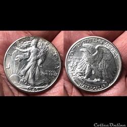 1940P Walking Liberty