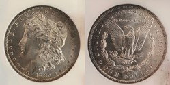 1885O Morgan Dollar MS-65