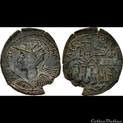 CARIA, Antiochia ad Maeandrum; Gallienus