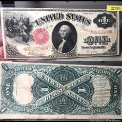 1917 US 1$ Legal Tender