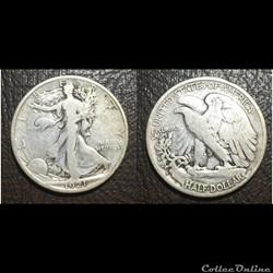 1921S Walking Half Dollar