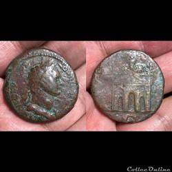 EGYPT, Alexandria. Domitian