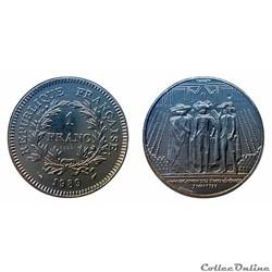 1 franc 1989 États Généraux ESSAI