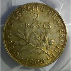 2 francs 1900 en MS63