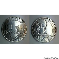 100 francs 1954 ESSAI