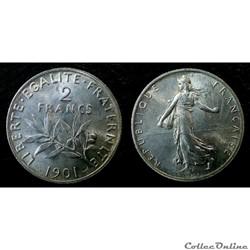 2 francs 1901