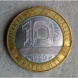 10 francs 1989 Montesquieu