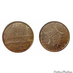 10 francs 1974 B ESSAI